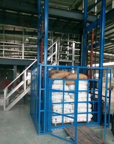 hydraulic guide rail lift