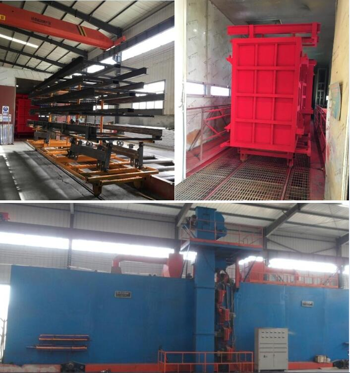 powder paiting and dust cleaning machine